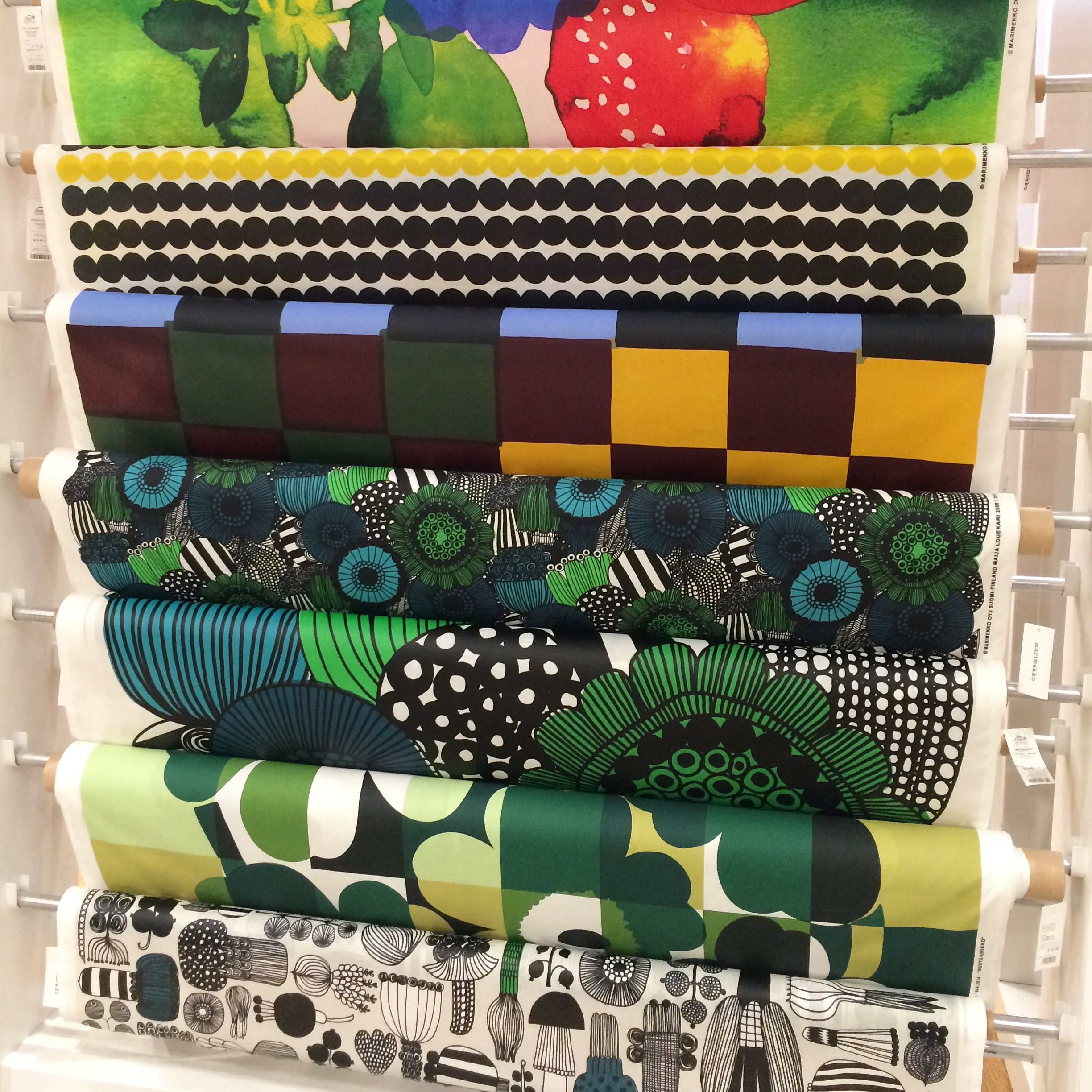 I Stumbled Across The Beautiful Marimekko Store In Central Sydney. The  Finnish Design House Stocks Clothing And Home Ware With Fun And Colourful  Patterns.